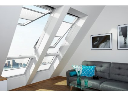 Výklopně-kyvné okno FAKRO FPU-V U3 preSelect MAX