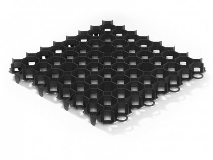 Gutta Guttagarden Original zatravňovací dlažba 50 x 50 x 6,2 cm černá