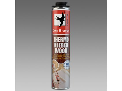 Den Braven Thermo Kleber WOOD 750 ml žlutá
