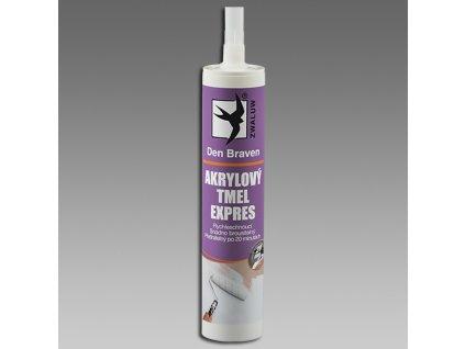 DEN BRAVEN akrylový tmel EXPRES 310ml bílý
