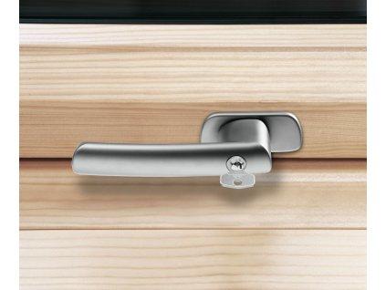 Uzamykatelná klika pro okna řady R6/R8