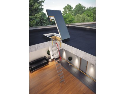 Fakro Výlez na plochou střechu DRL
