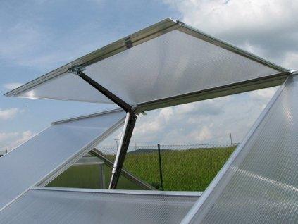 Větrací okno pro skleník GUTTA Gardentec F