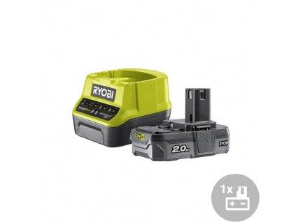 Ryobi Set akumulátor + nabíječka RC18120-120, 18V, 1x 2Ah