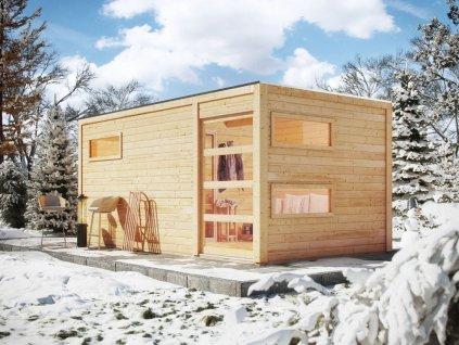 Finská sauna KARIBU HYGGE (86314)