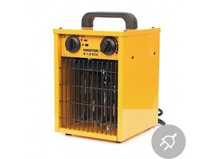 Elektrické topidlo B 1.8 ECA Master, 2kW, s ventilátorem, domácí použití