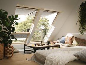 Balkónové střešní okno Velux GDL 3066