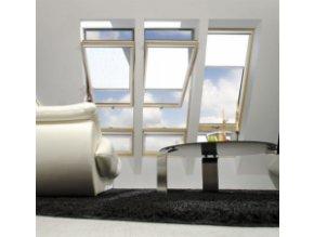 Kyvné okno FAKRO FYU-V U5 proSky se zvýšenou osou otáčení