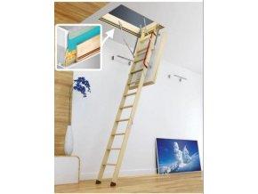 Půdní schody Fakro LWT Passive House  + dárek v hodnotě 200 kč