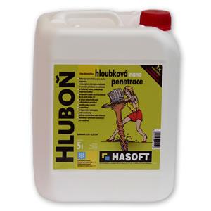 Hasoft HLUBOŇ - hloubková nano penetrace Hasoft Nenasávej hydrofobizační nátěr: 1 l
