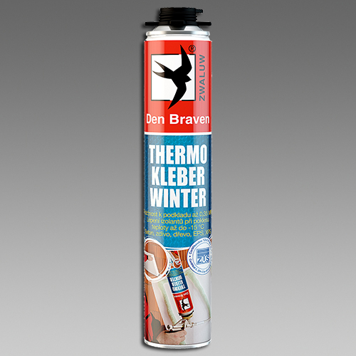 Den Braven Thermo Kleber WINTER 750 ml zelená