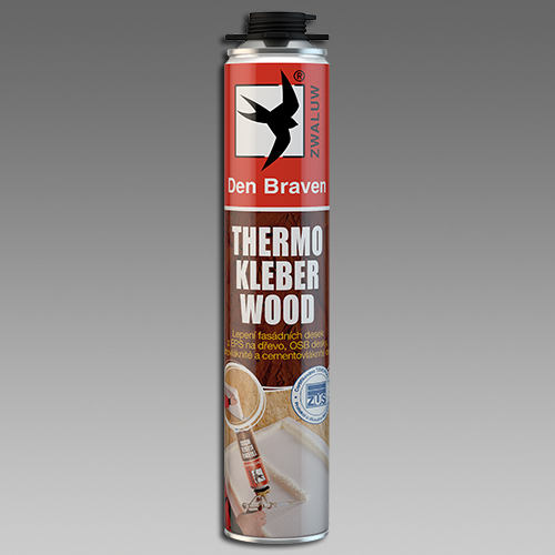 Den Braven Thermo Kleber WOOD 750 ml žlutá