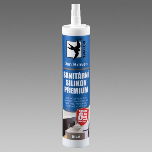 Den Braven Sanitární silikon PREMIUM 310ml Barva: Bílá