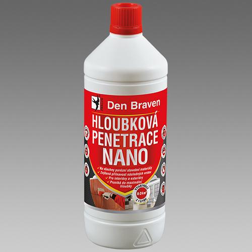 Den Braven Hloubková penetrace NANO Obsah: 1 litr