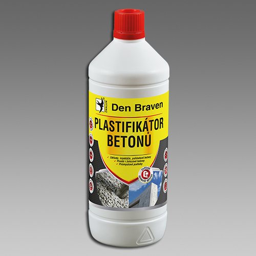Den Braven Plastifikátor betonů Obsah: 10 litrů