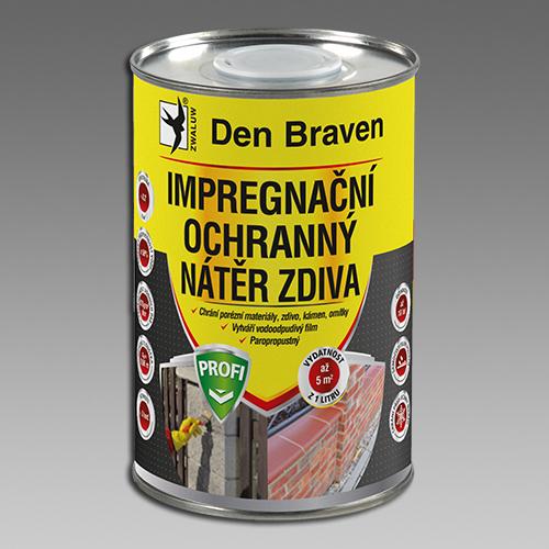Den Braven Impregnační a ochranný nátěr zdiva PROFI Obsah: 1 litr