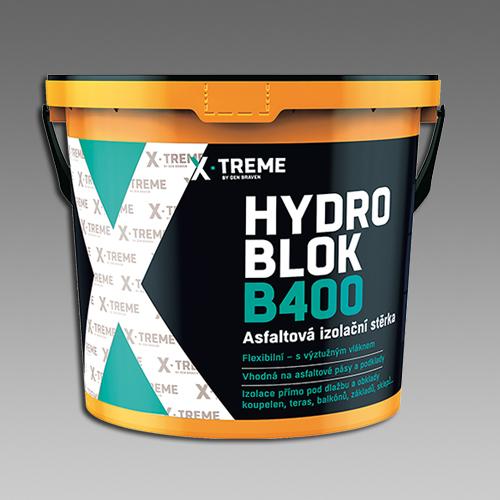 Den Braven Asfaltová izolační stěrka HYDRO BLOK B400 Obsah: 5 kg