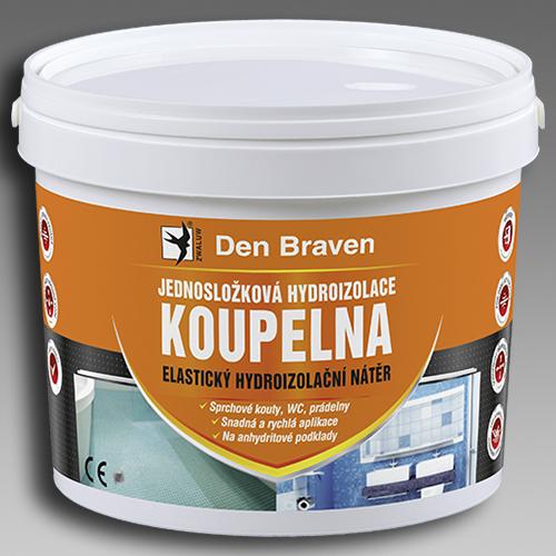 Den Braven Jednosložková hydroizolace KOUPELNA Obsah: 5 kg