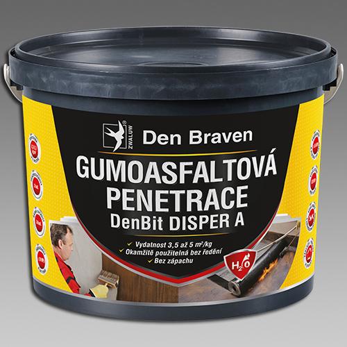 Den Braven Gumoasfaltová penetrace DenBit DISPER A Obsah: 10 kg