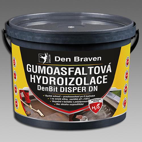 Den Braven Gumoasfaltová hydroizolace DenBit DISPER DN Obsah: 10 kg