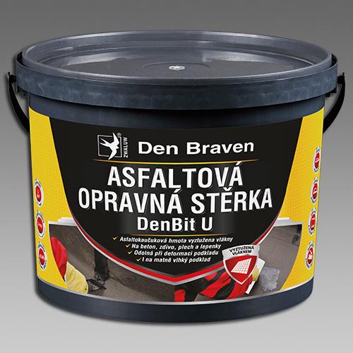 Den Braven Asfaltová opravná stěrka DenBit U Obsah: 5 kg