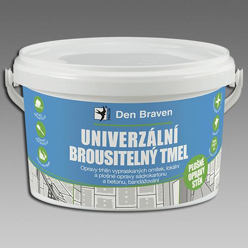Den Braven Univerzální brousitelný tmel bílá Balení: 1,5 kg