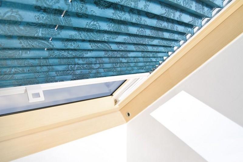 Plisovaná roleta FAKRO APS II Rozměr okna FAKRO: 02 55x98 cm
