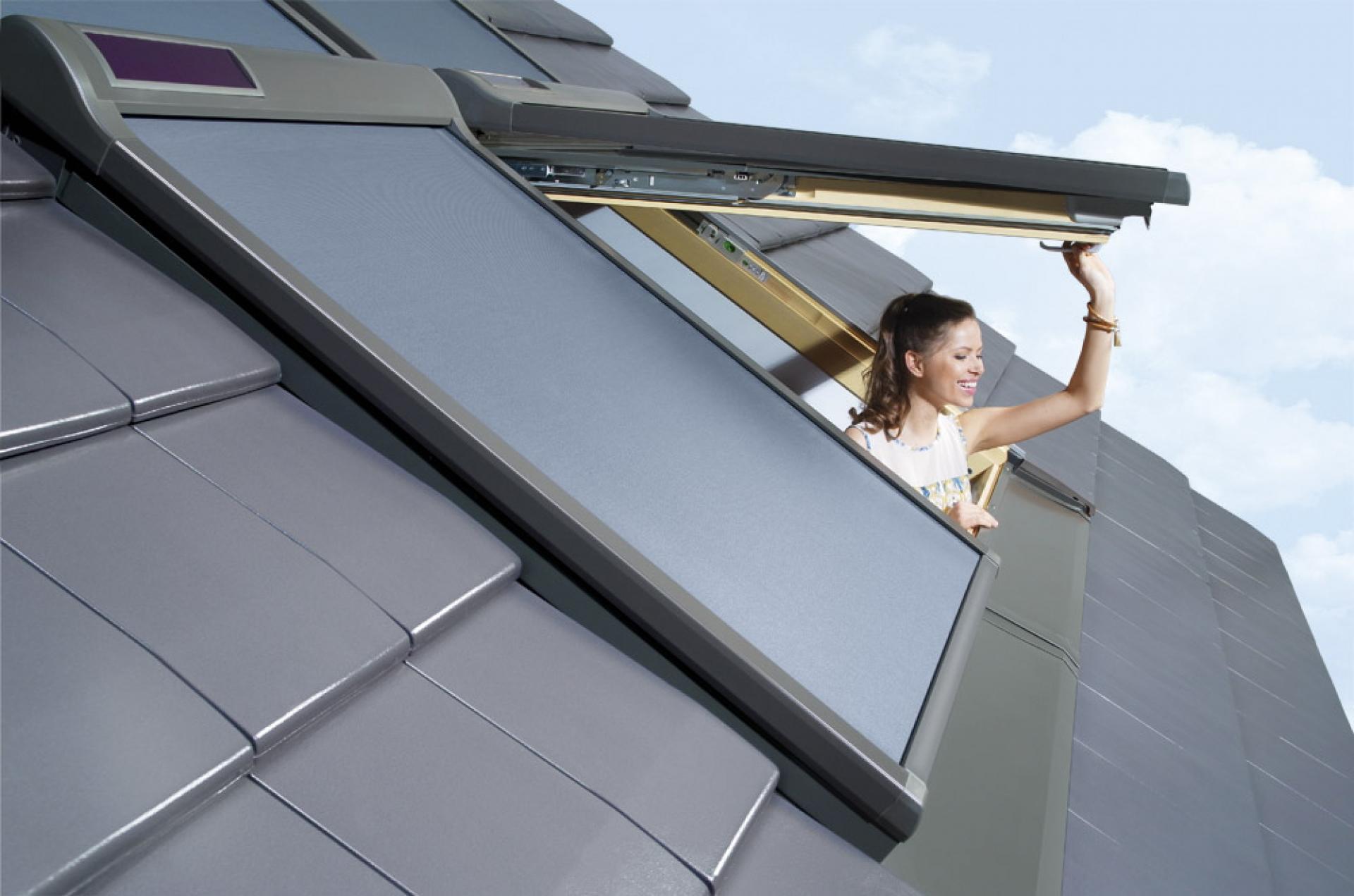 Markýza FAKRO AMZ Solar I Rozměr okna FAKRO: 01 55x78 cm