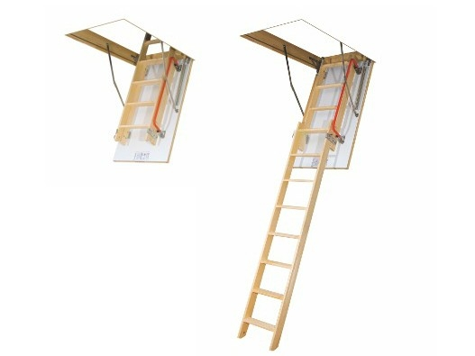 Půdní schody FAKRO LDK Půdní schody Fakro: 280 70x140 cm