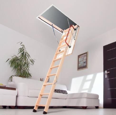 Půdní schody FAKRO LWZ Půdní schody Fakro: 280 60x120 cm