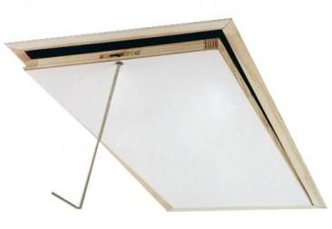 Fakro krycí lišty LXL Varianta a rozměr (cm): LXL-W bílé dřevo 70x140 cm