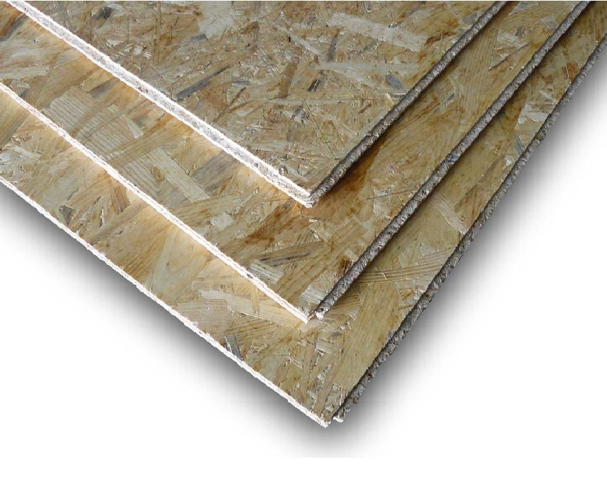 OSB desky 3 Superfinish P+D Kronospan - ucelené palety tloušťka OSB desky: 12 mm