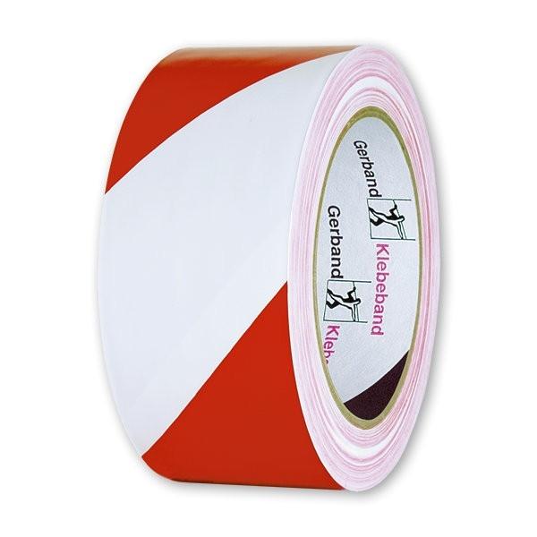 Hasoft výstražná PVC páska Hasoft výstražná PVC páska: 50 mm/33 m bílo-červená