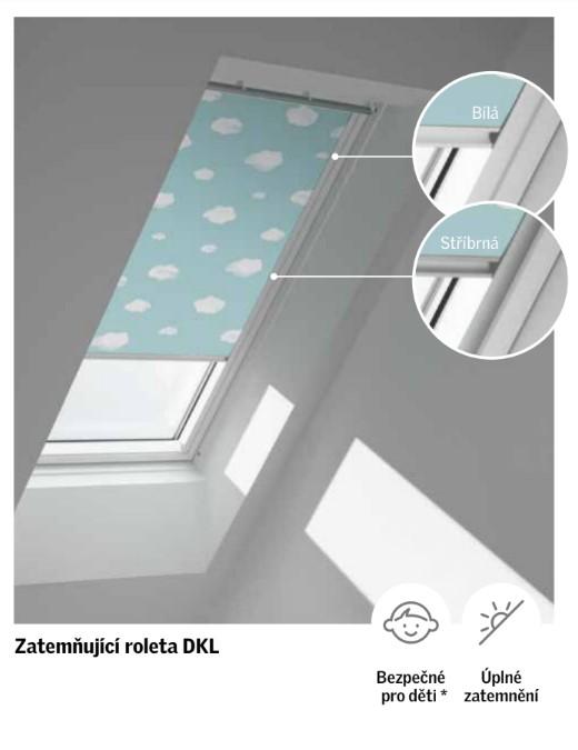 Zatemňující roleta Velux DKL Disney Roleta: CK02/C02 55x78 cm