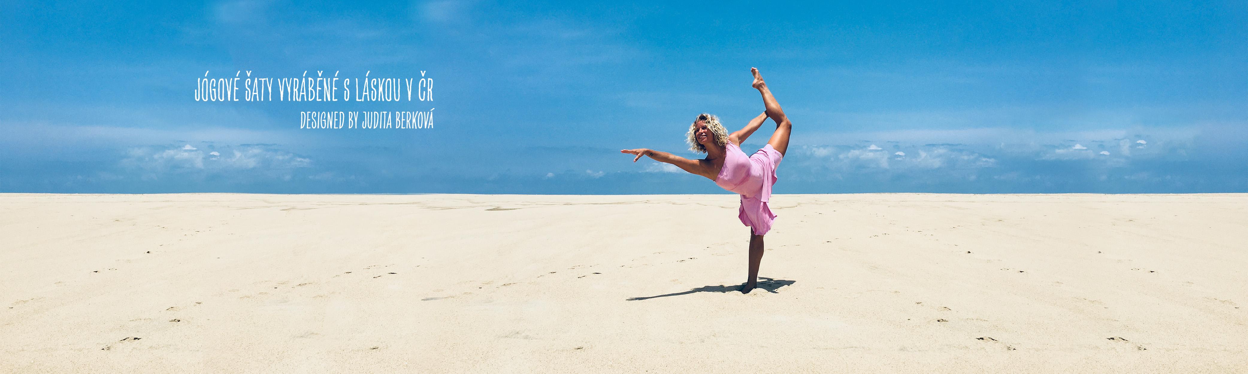Judita na pláži