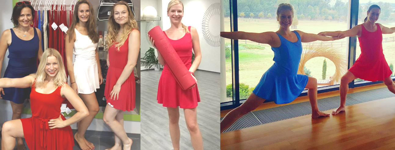 Jógové šaty na ženách: jógová praxe
