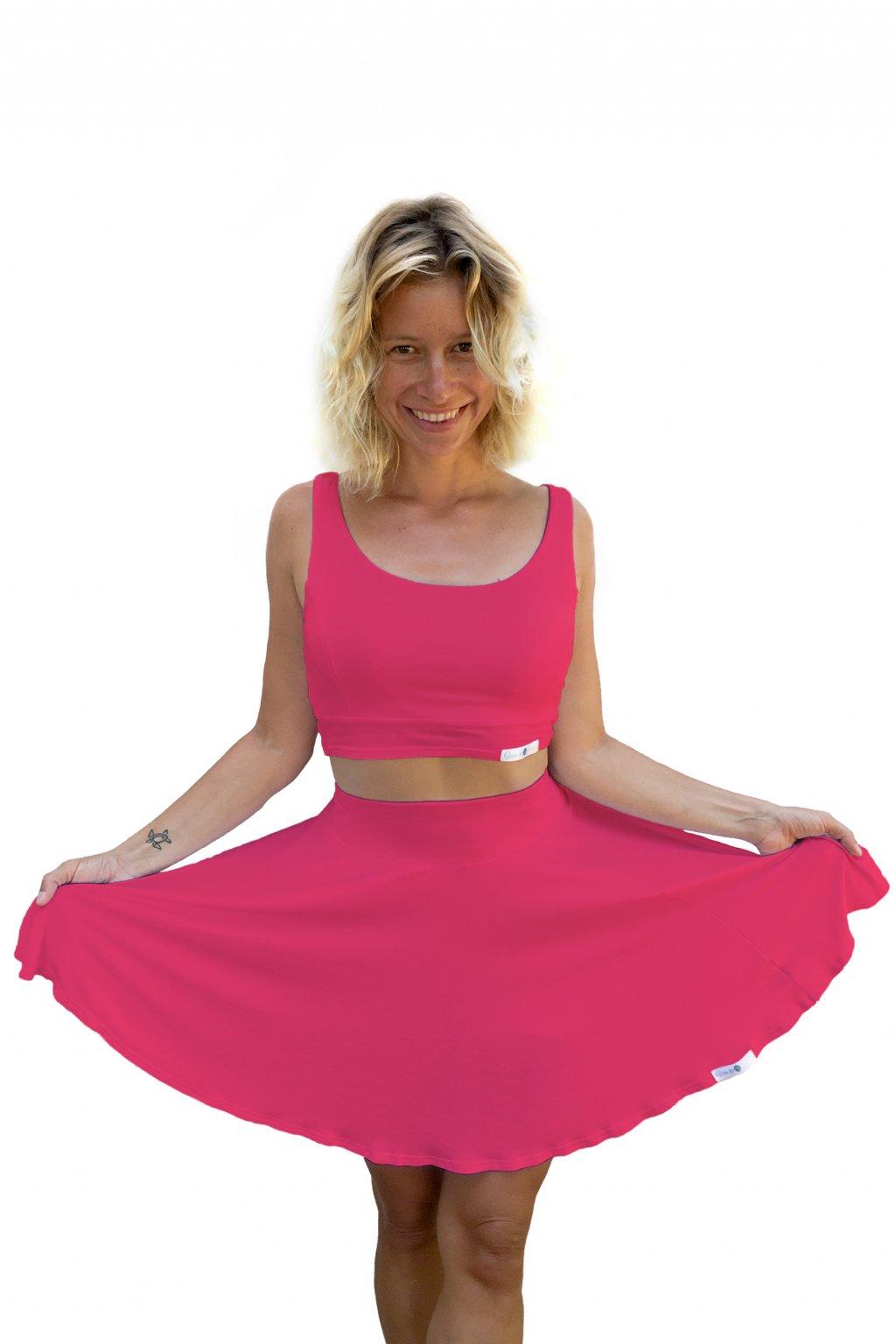 sukne na jogu ruzova