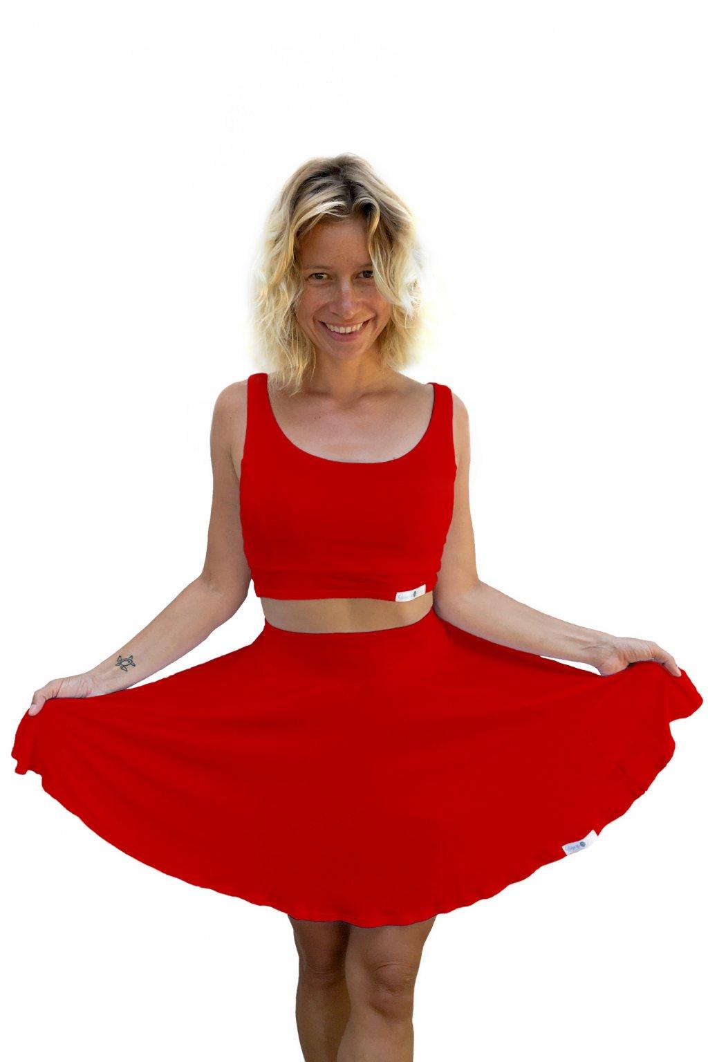 sukne na jogu rubinova