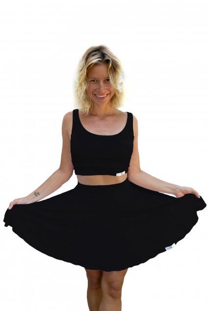 sukne na jogu cerna
