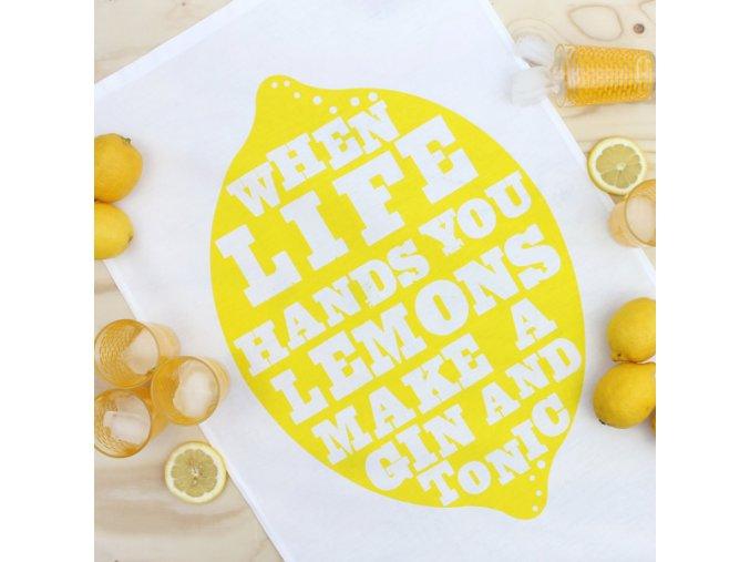 Utěrka Lemons