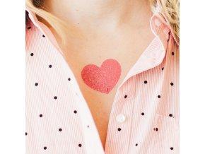 Tetovačka Tattly Srdce I Heart Sparkles