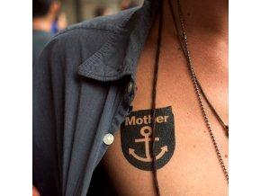 Tetovačka Tattly Typografie Mother