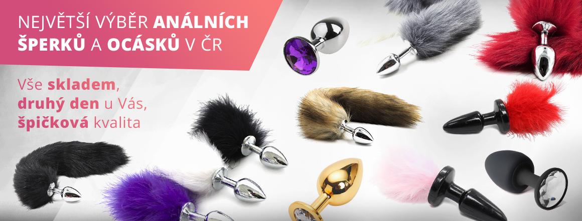 největší výběr anální šperků a ocásků, análních kolíků