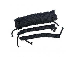 Set lan Bondage Seile schwarz