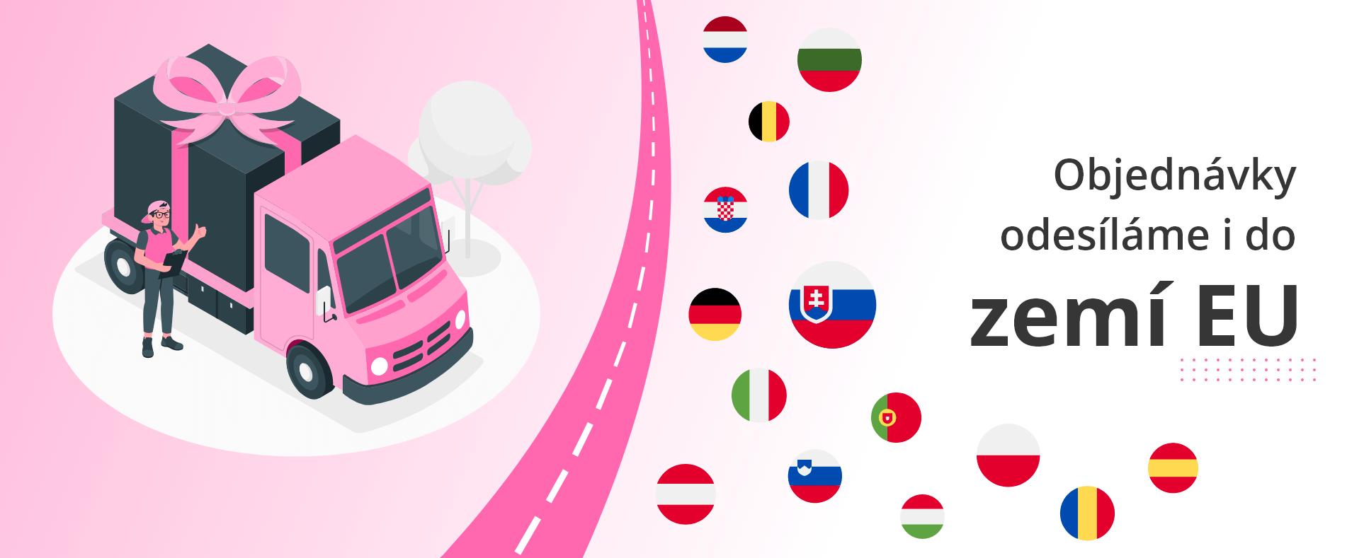 Odesíláme do zemí EU