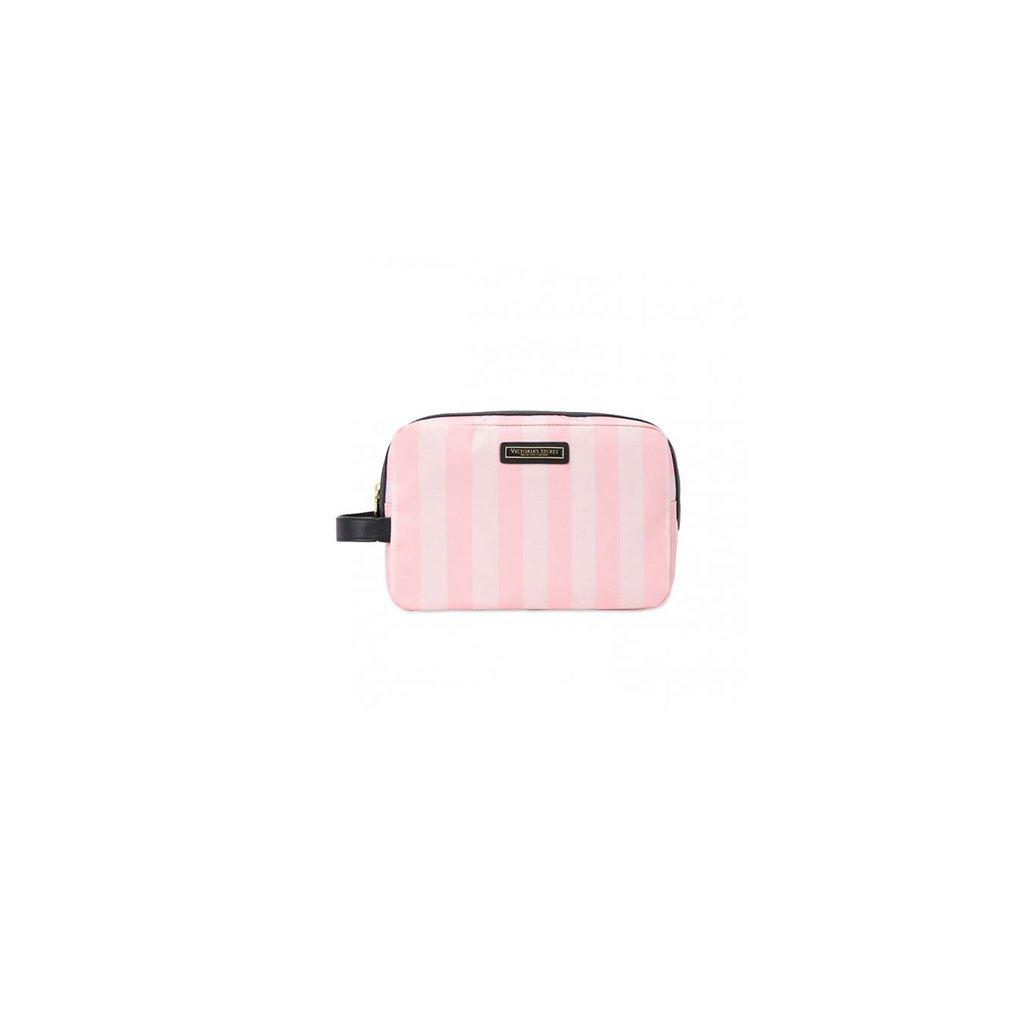 Victoria's Secret kosmetická taška Signature Stripe Carry-All Case