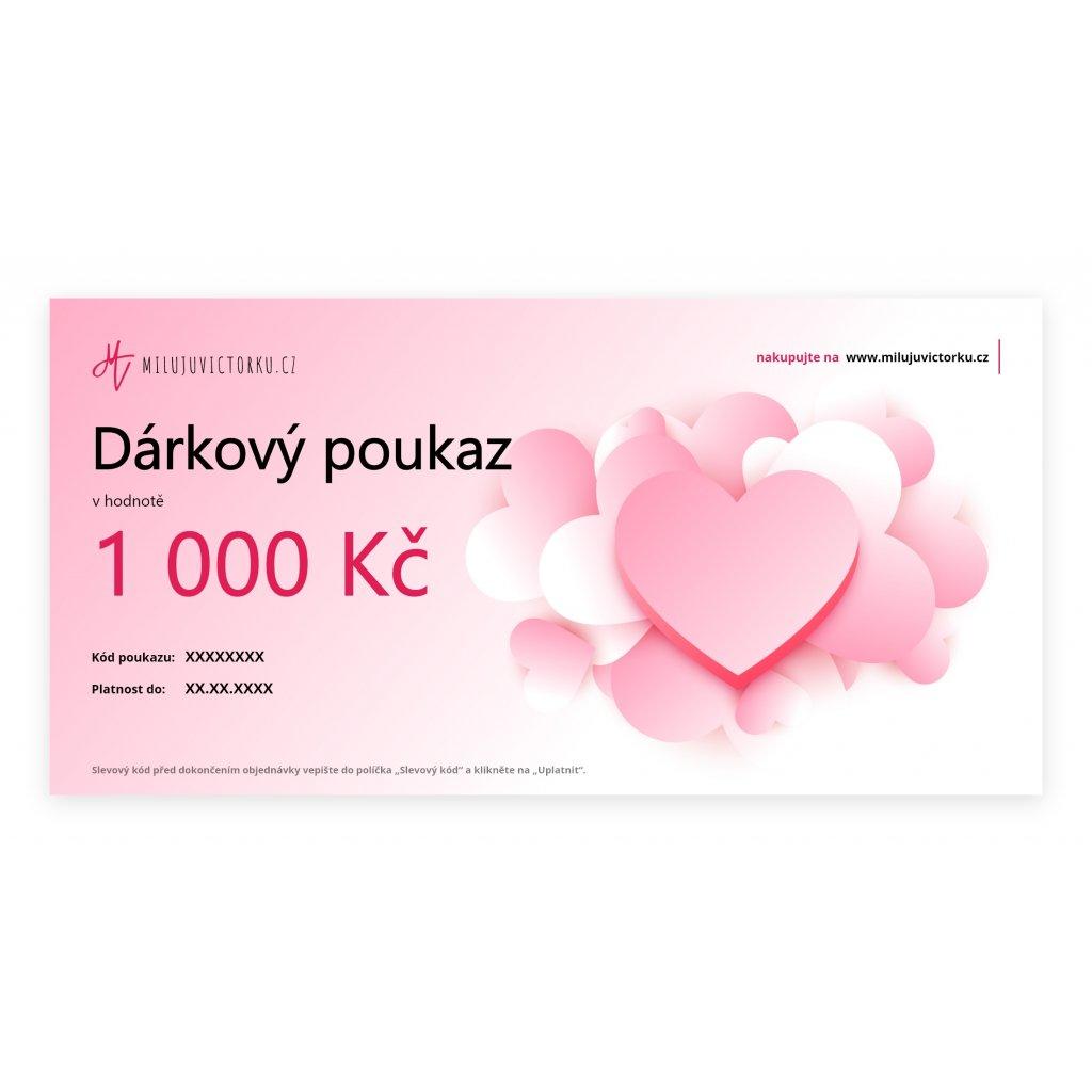 MV Voucher 1 000 Kč Valentýn