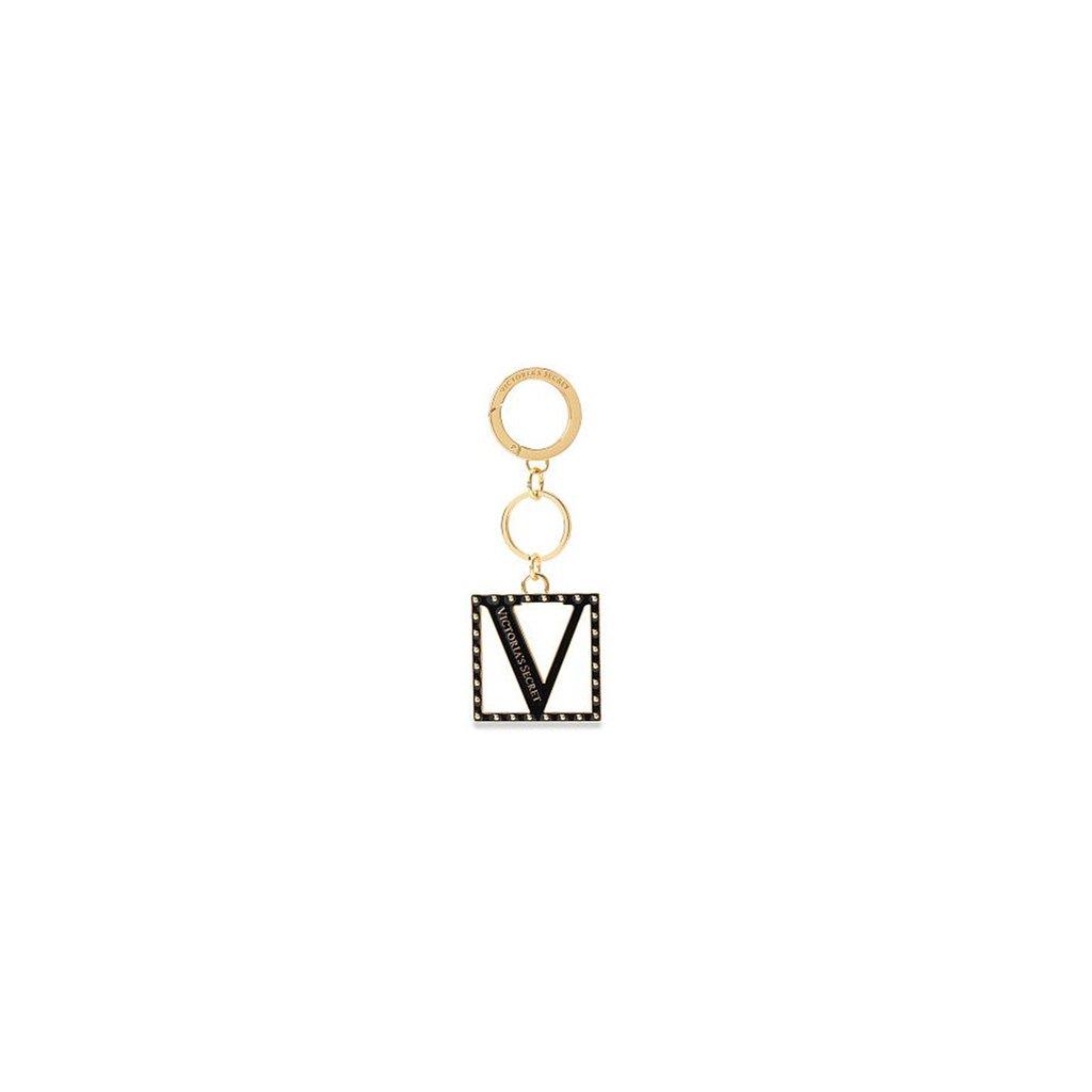 Victoria's Secret klíčenka Black Lily Charm Keychain