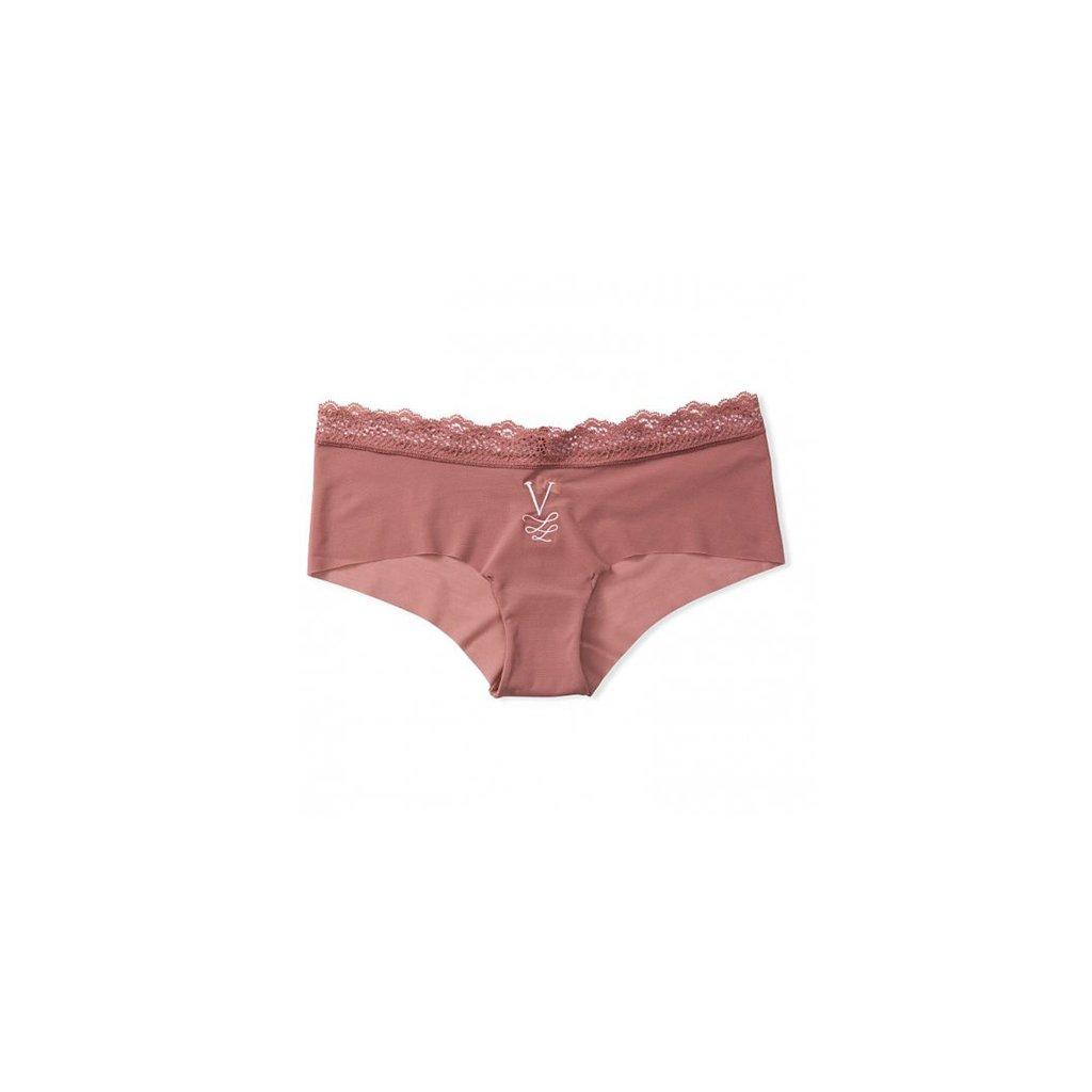 Victoria's Secret Vinyard Rose sexy síťované brazilky s luxusním monogramem V