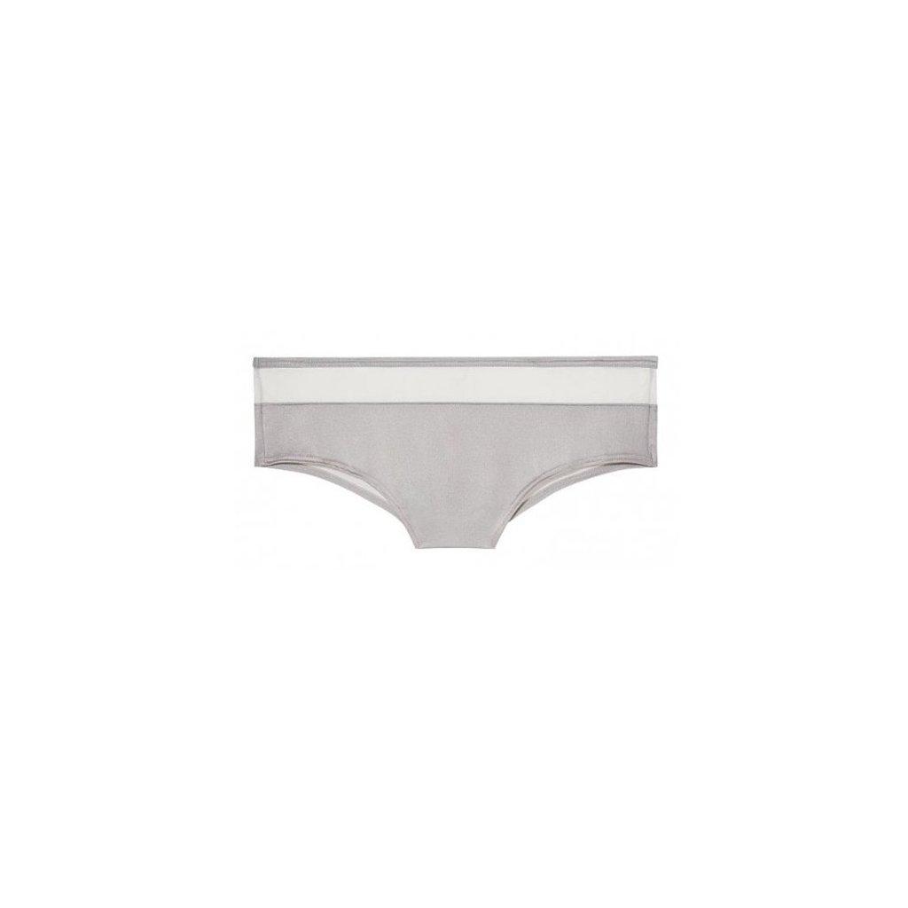 Victoria's Secret PINK stříbrné bokové kalhotky